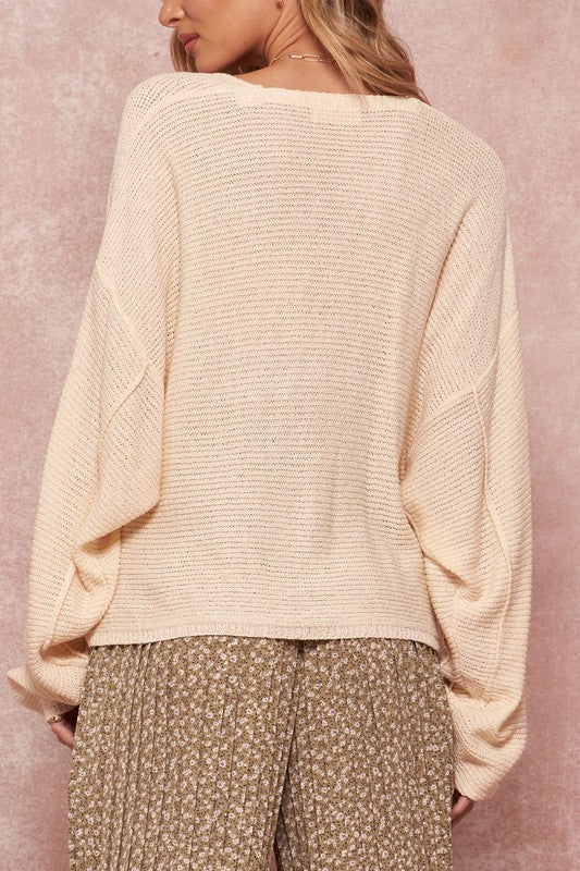 Daria Sweater in Cream