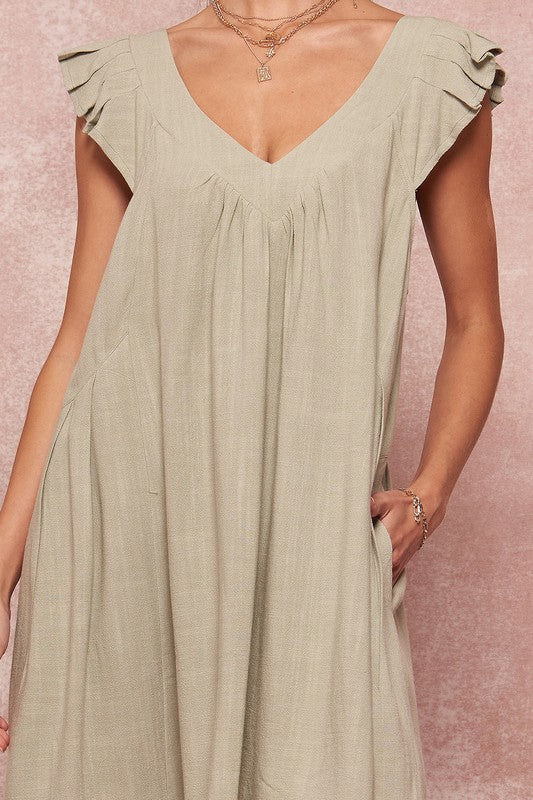 Molly Dress in Sage