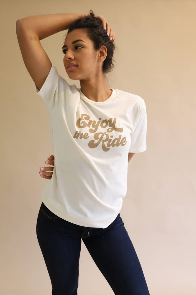 Enjoy The Ride Graphic Tee