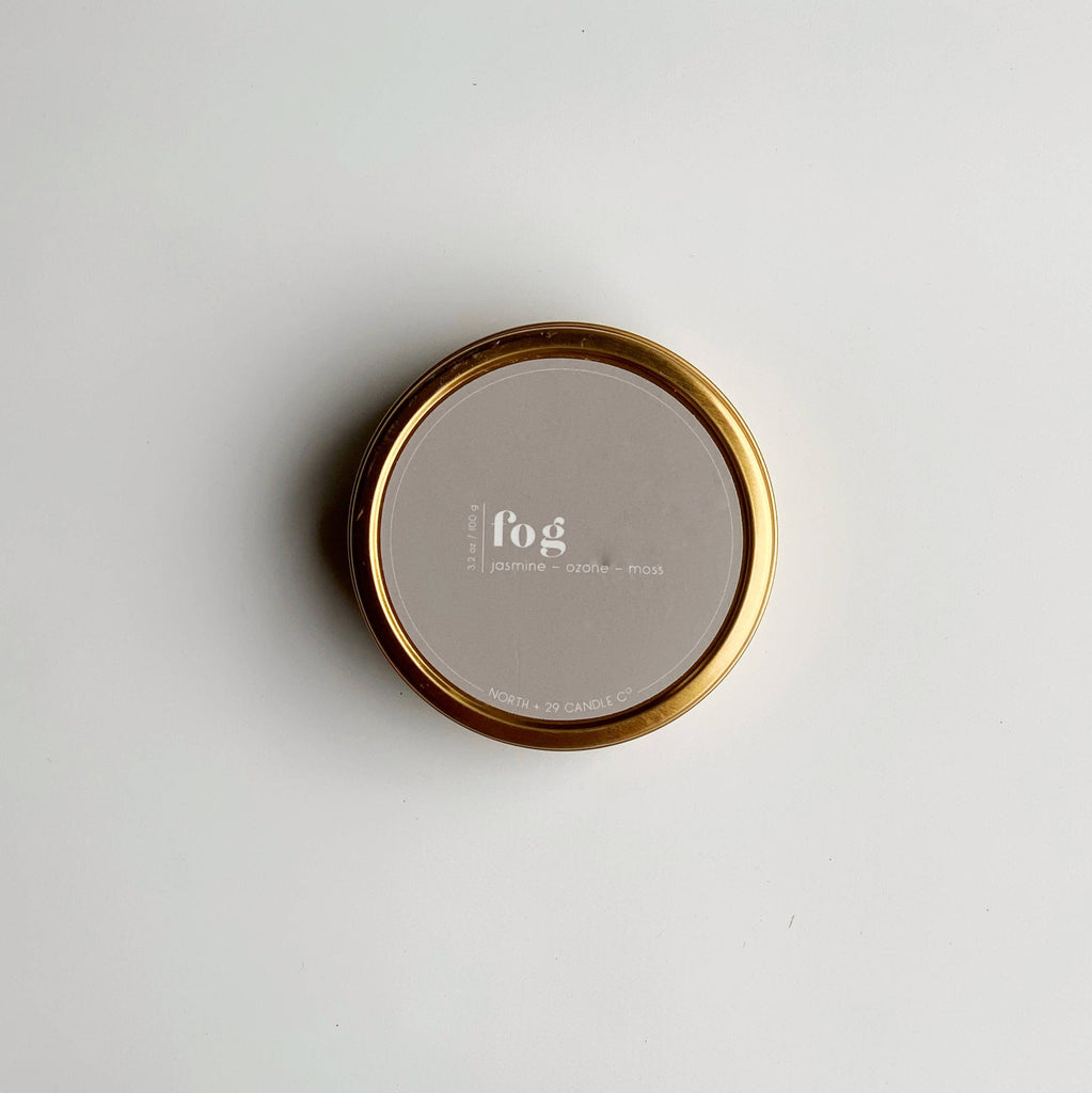 Fog Travel Candle