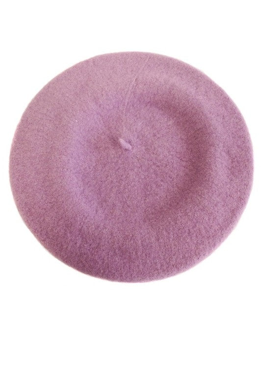 Coco Beret in Lavender