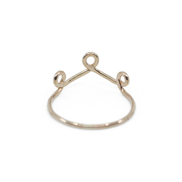 Crown ring in Gold 1