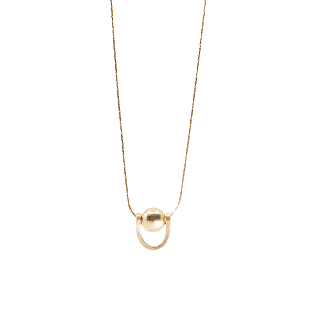 minimalist dainty bar necklace handmade gold jewelry