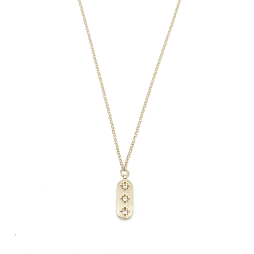 Isabelle Necklace in Gold