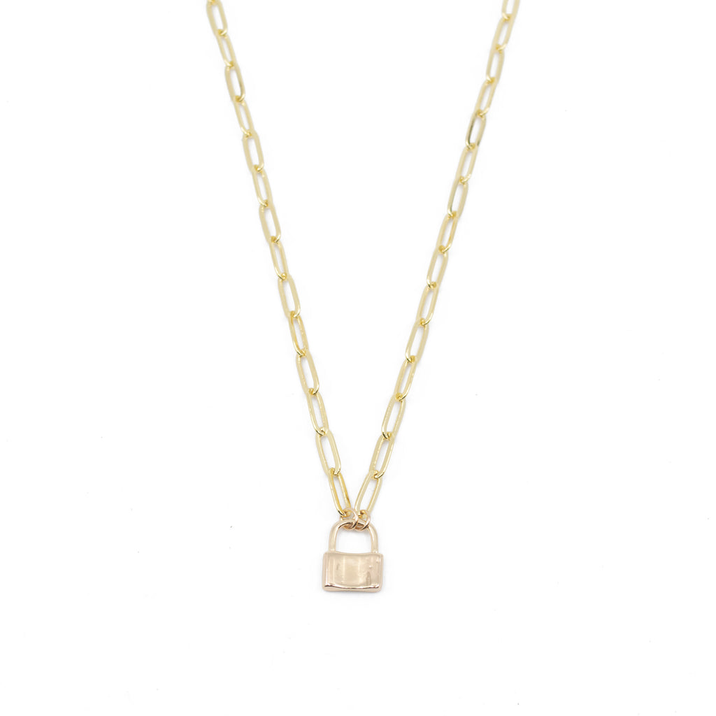 Lottie Necklace in Gold