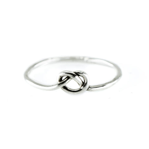 Love Knot Ring in Silver