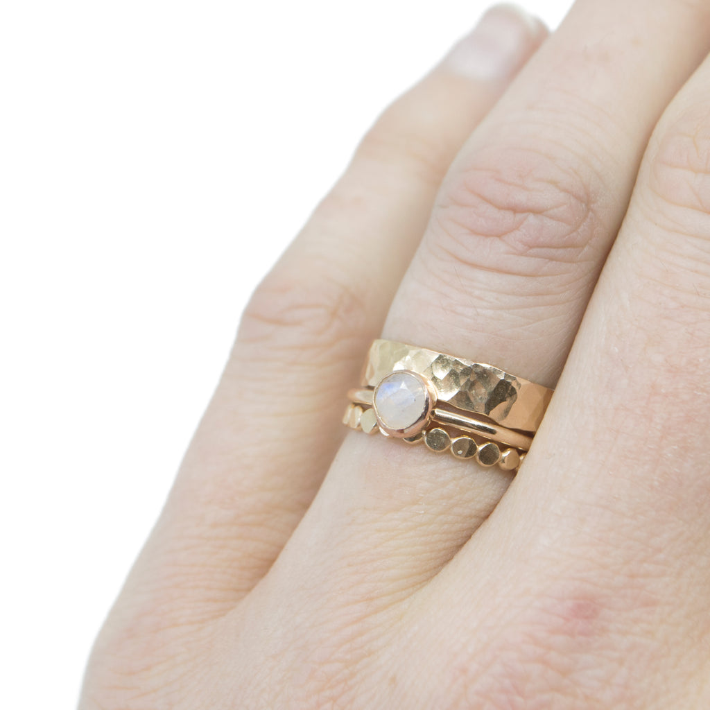 Jolie Stacking Set in Gold