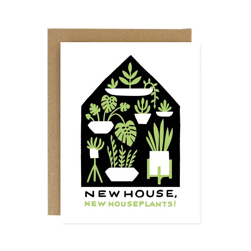 New House New Houseplants Card