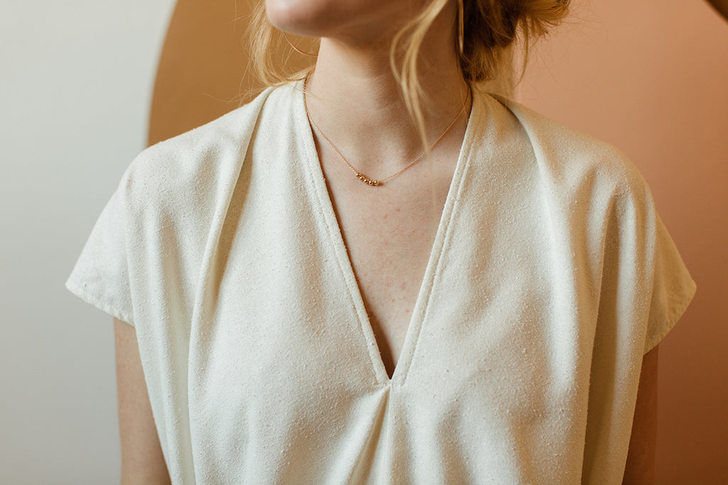 Paso Necklace in Gold - Made by Tumble