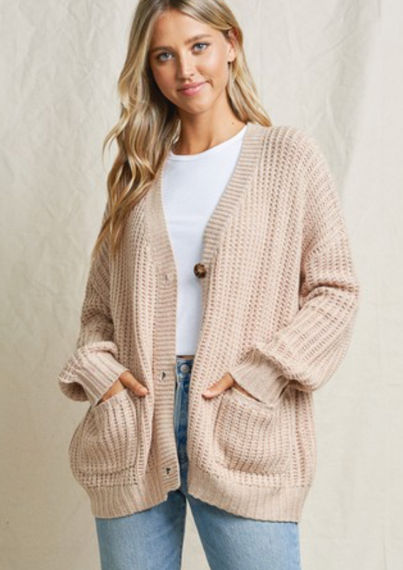 Cozy Days Cardigan