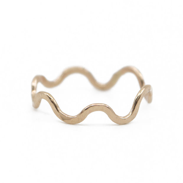 Wiggle Ring in Gold 1
