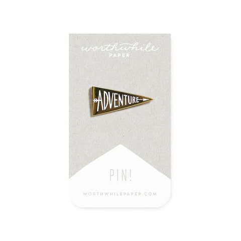 Adventure Enamel Pin