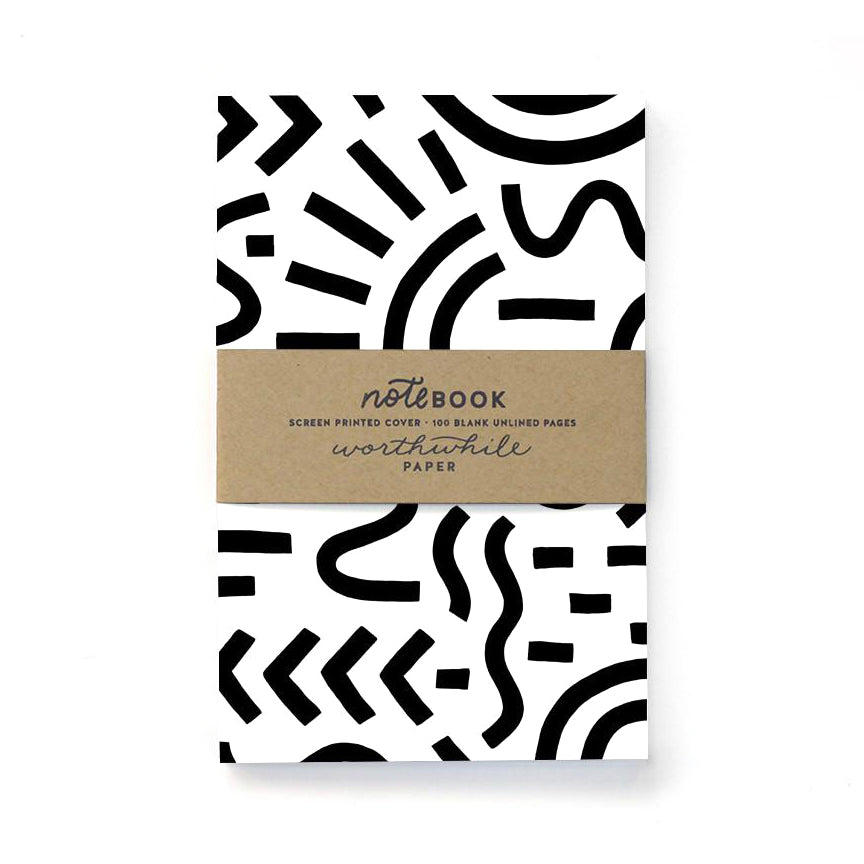 CURVE & LINES NOTEBOOK