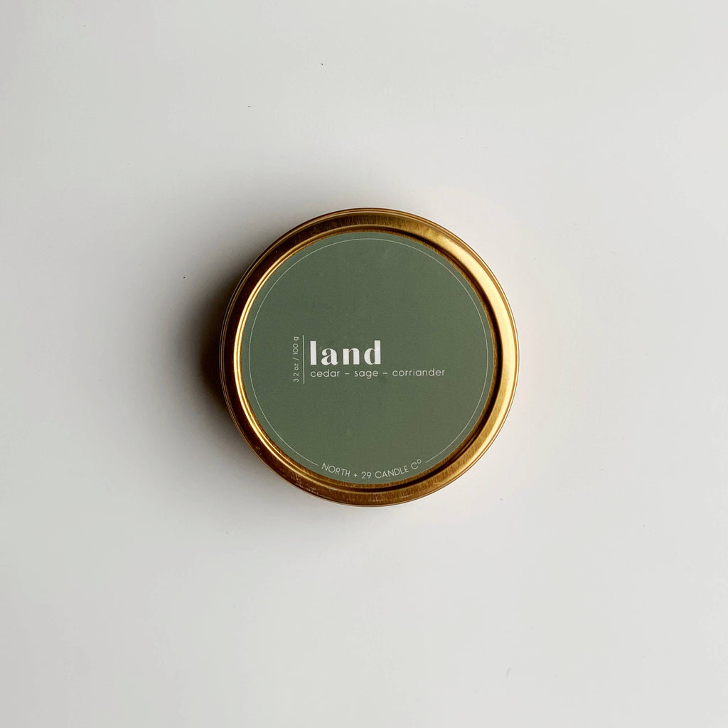 Land Travel Candle