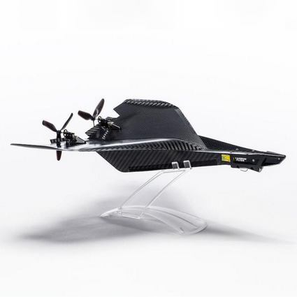 The Carbon Flyer - Exotic, Fun iPhone-Controlled Aircraft