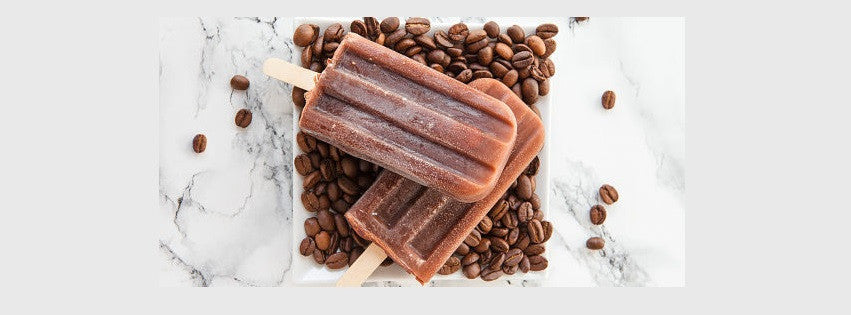Make Your Own Dark Chocolate Iced Coffee Popsicles with Grady's Cold Brew Coffee