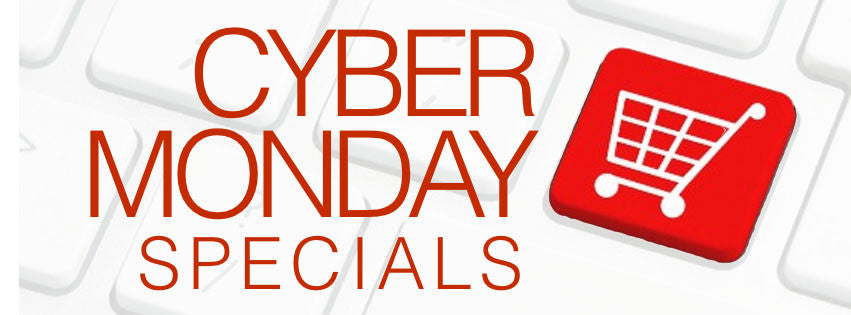 Our Exclusive Cyber Monday Sale Has Arrived!