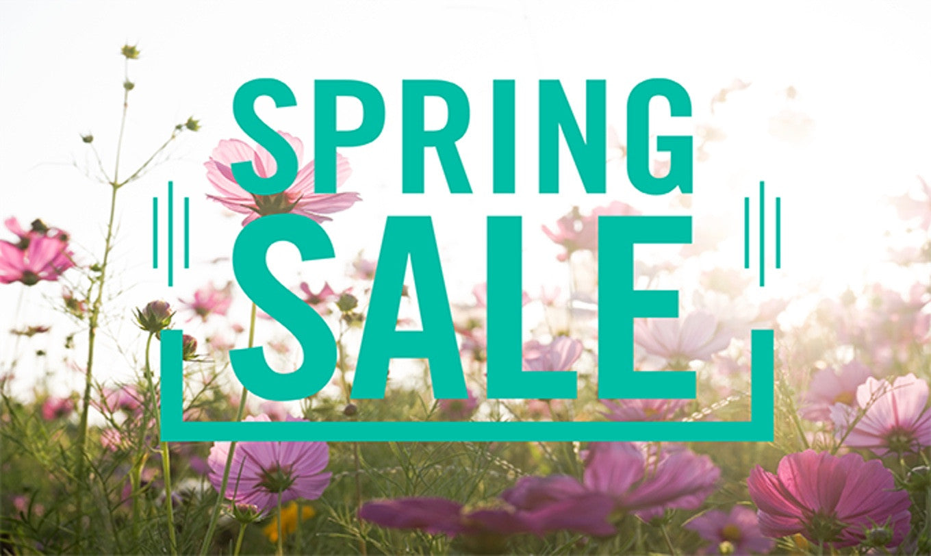Spring has Sprung! Celebrate with our Spring Kick Off Sale!