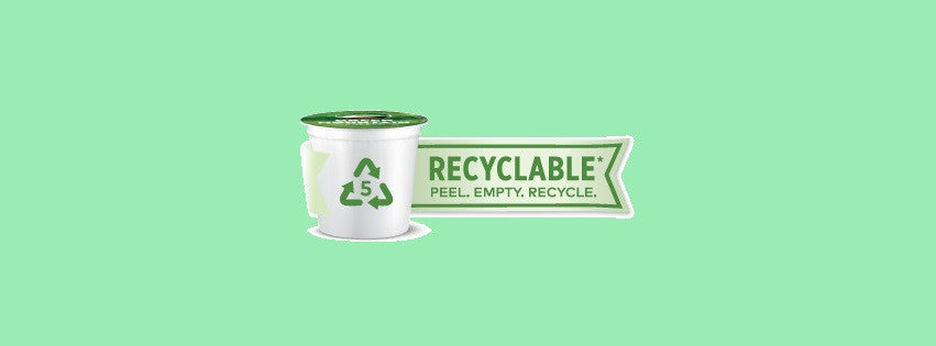 Green Mountain's Recyclable K-Cups Strive to Improve Our Impact on the World Around Us