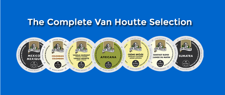 Get Your Van Houtte K-Cups at Tiki Hut Now