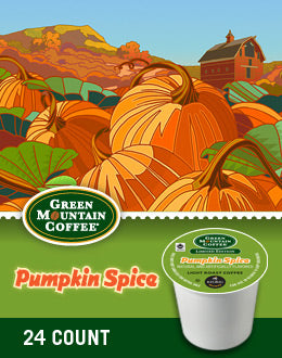 Green Mountain Pumpkin Spice K Cups