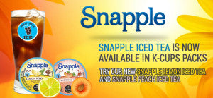 Snapple K cups