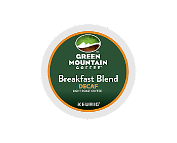 Green Mountain Decaf Breakfast Blend K Cup Pods Tiki