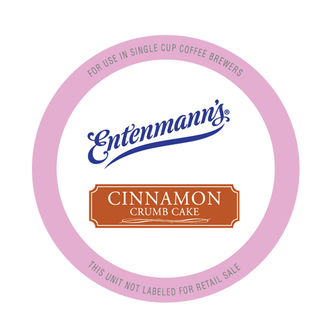 Entenmann's Cinnamon Crumb Cake Coffee Pods