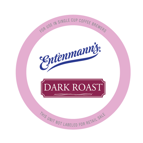 Entenmann's Dark Roast Coffee Pods