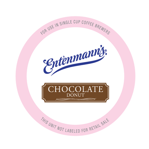 Entenmann's Chocolate Donut Coffee Pods
