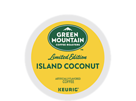 Green Mountain Island Coconut K-CUP Pods