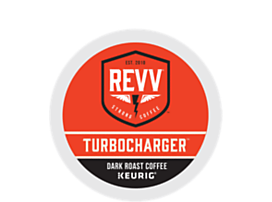 REVV Coffee Turbocharger K-CUP Pods