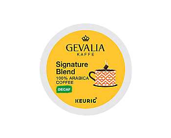 Gevalia Decaf Signature Blend K-CUP Pods