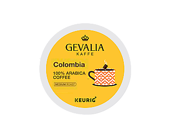 Gevalia Colombia K-CUP Pods