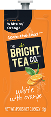 Flavia Bright Tea Co. White with Orange