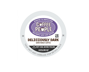 Coffee People Deliciously Dark K-Cup Pods