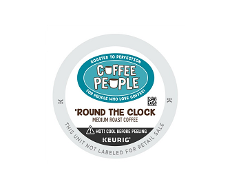 Coffee People Round The Clock K-Cup Pods