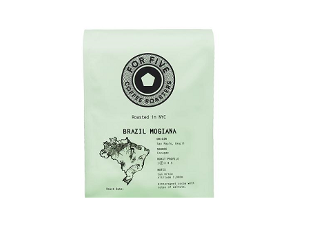For Five Brazil Mogiana - 1lb Whole Bean