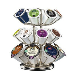 Brewers - Keurig K-Cup Carousel Tower Chrome