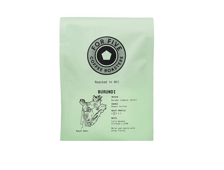 For Five Burundi Roast - 1lb Whole Bean