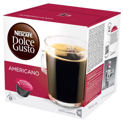 Nescafe Caffe Americano House Blend Dolce Gusto Capsules