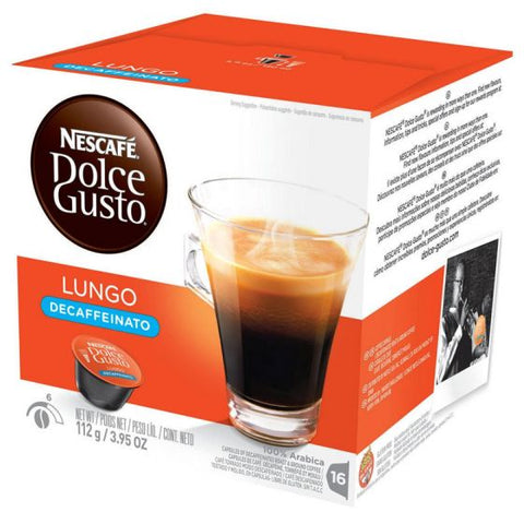 Nescafe Caffe Lungo Decaf Dolce Gusto Capsules