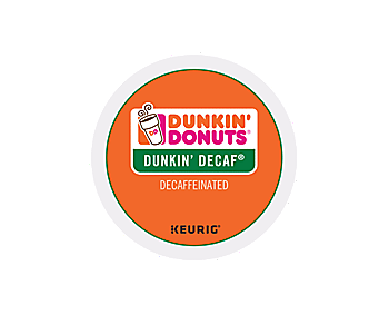 Dunkin' Donuts Original Decaf 24 ct K-CUP Pods