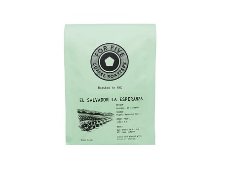 For Five El Salvador La Esperanza - 1lb Whole Bean