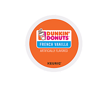 Dunkin' Donuts French Vanilla 24 ct K-CUP Pods