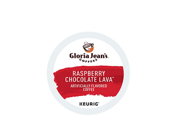 Gloria Jean's Raspberry Chocolate Lava K-CUP Pods