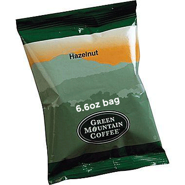 Green Mountain Hazelnut 6.6oz Bags