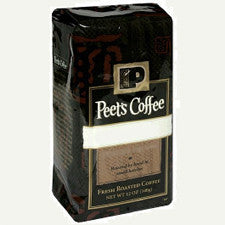Gourmet Coffee - Peet's French Roast 1lb Whole Bean Coffee