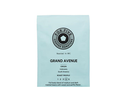 For Five Grand Avenue Roast - 1lb Whole Bean