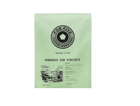 For Five Honduras San Vincente - 1lb Whole Bean